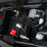 Batterie ausgebaut