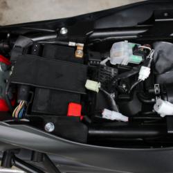 Batterie eingebaut