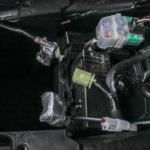 Batteriepole abgeklebt