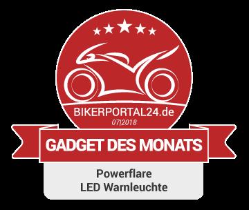 GDM Juli 2018 Award Powerflare LED Warnleuchte
