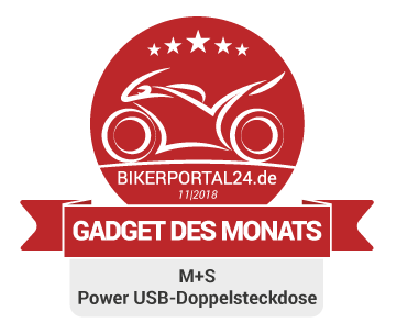 GDM November 2018 Award M+S Power USB-Doppelsteckdose