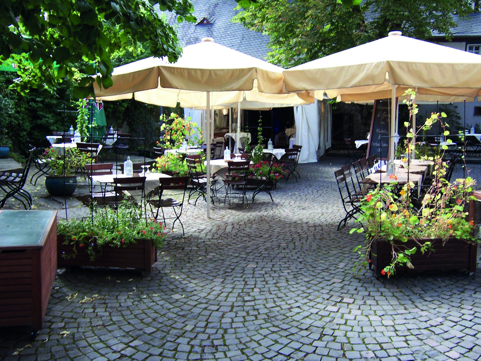 Badische Amtskellerey Biergarten