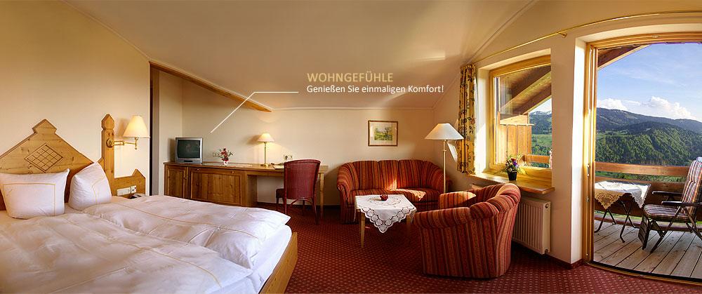 Hotel Berghof am Paradies Zimmer