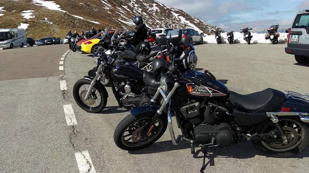 Hotel Alpenblick Motorrad
