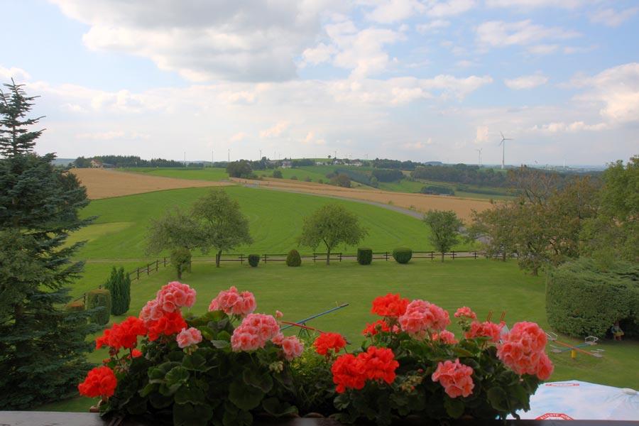 Krautscheider Hof Ausblick