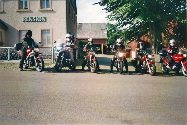 Pension Oberknapp Biker