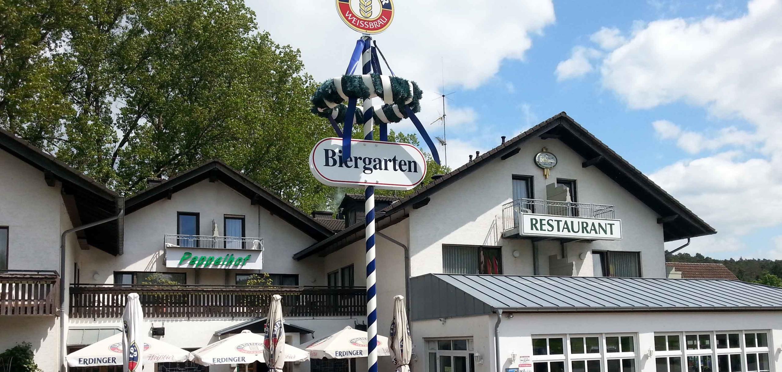 Hotel Pappelhof Biergarten