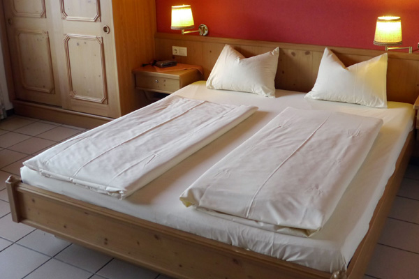 Hotel Pappelhof Zimmer