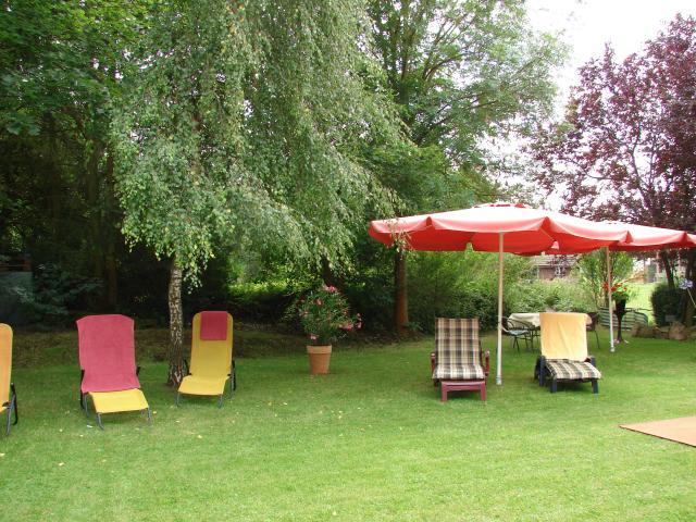 Hotel Vierjahreszeiten Garten