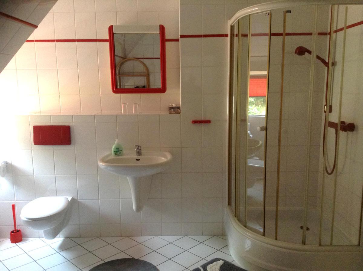 Zum Braunen Hirsch Badezimmer