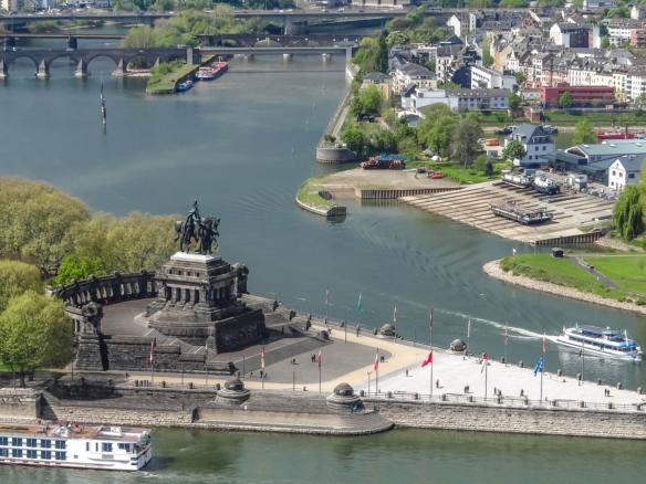 Rhein & Nürburgring Koblenz Deutsches Eck