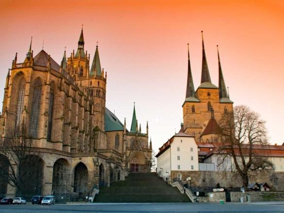 Tour Thüringer Wald Erfurt Dom