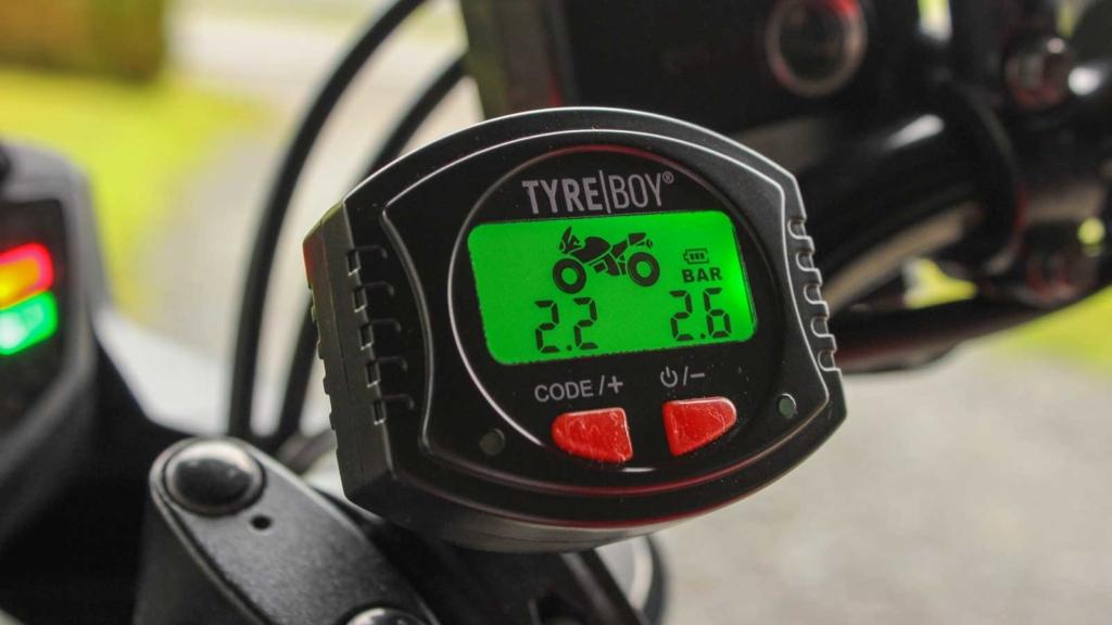 Tyreboy Reifendruckkontrollsystem Header