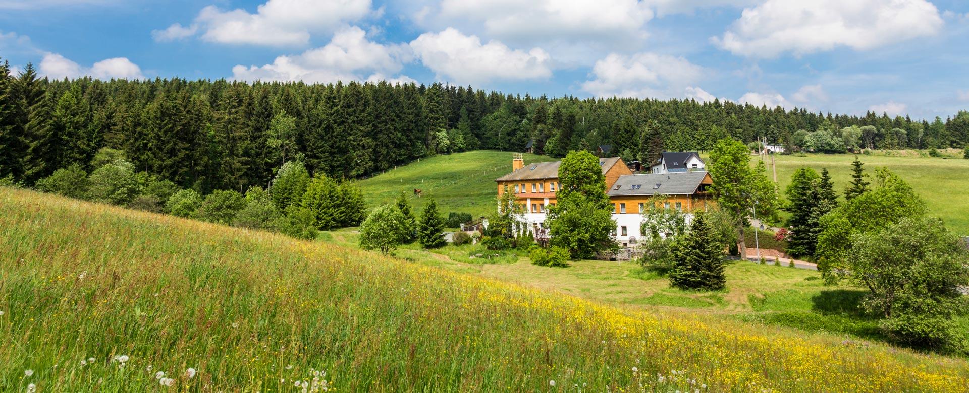 Landhaus Bergidyll Landschaft