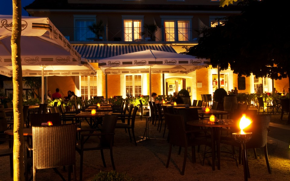 Hotel Seehof Biergarten