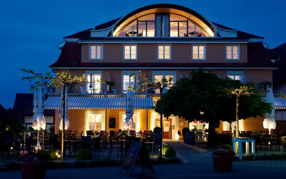 Hotel Seehof Abends