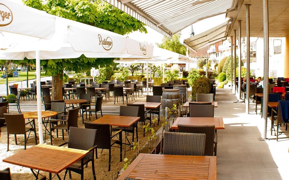 Hotel Seehof Terrasse