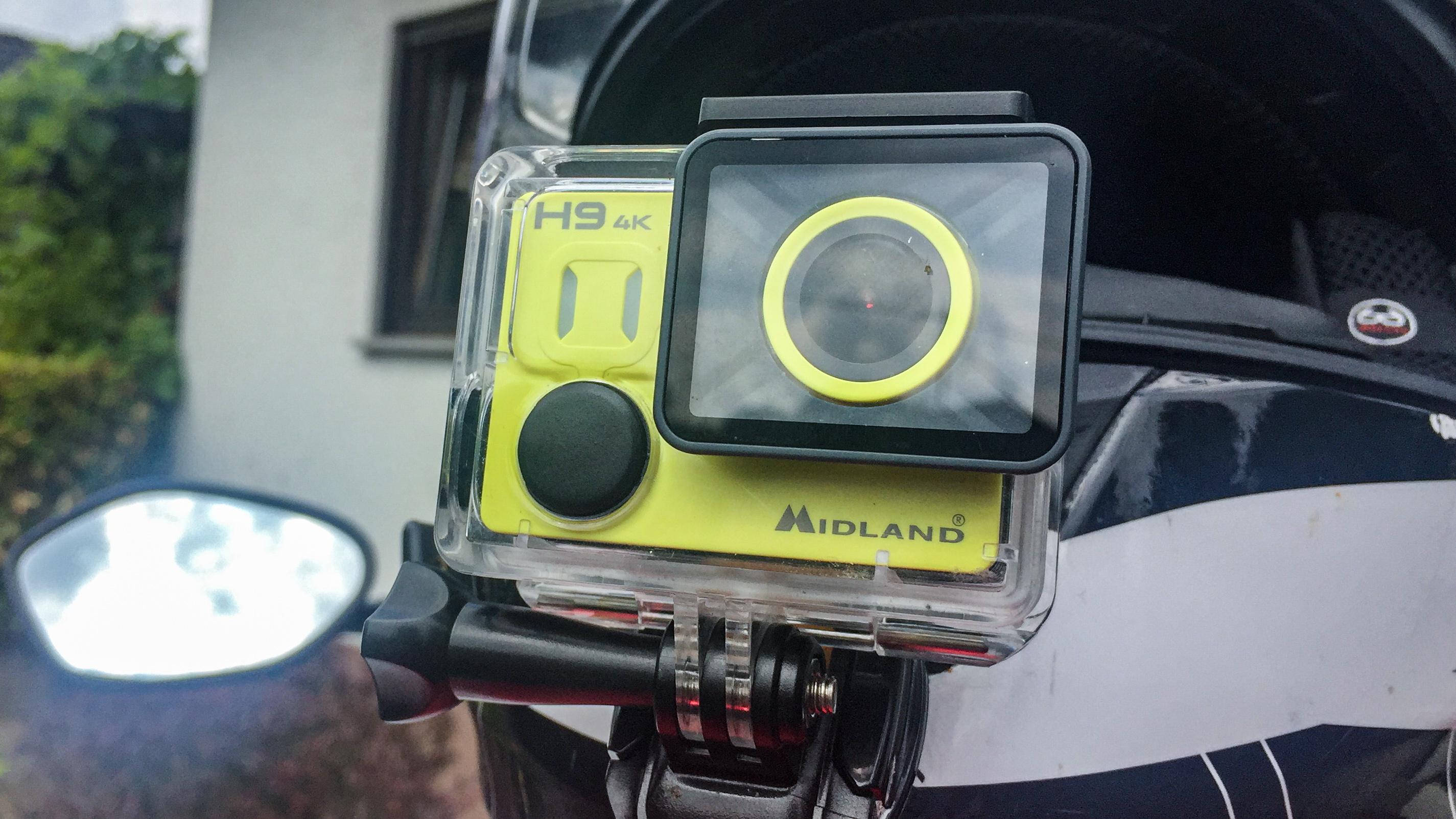 Test: Midland H9 4K Actioncam