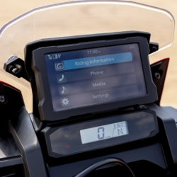 Honda Africa Twin 2020 Display