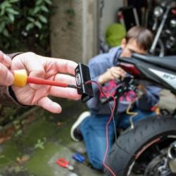 SV 650 Protech Kennzeichenhalter Kennzeichenbeleuchtung vorbereiten