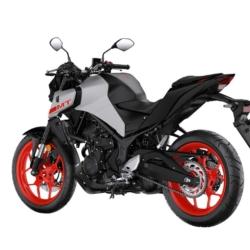 Yamaha MT-03 2020 Weiß Rot