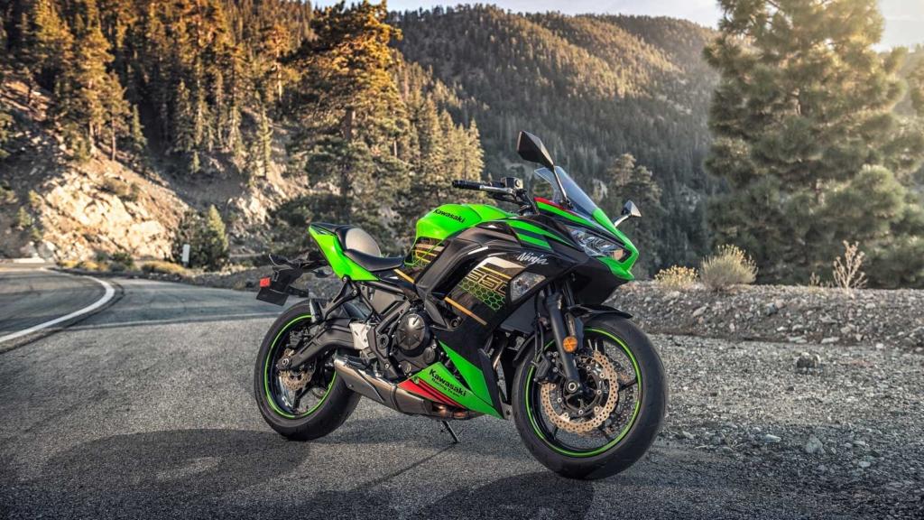 Kawasaki Ninja 650 Teaserbild