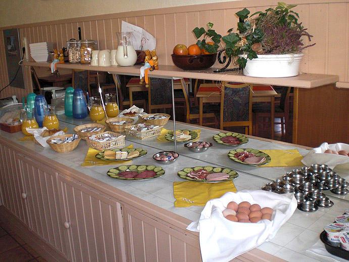 Hotel Landhaus Irmgard Frühstück