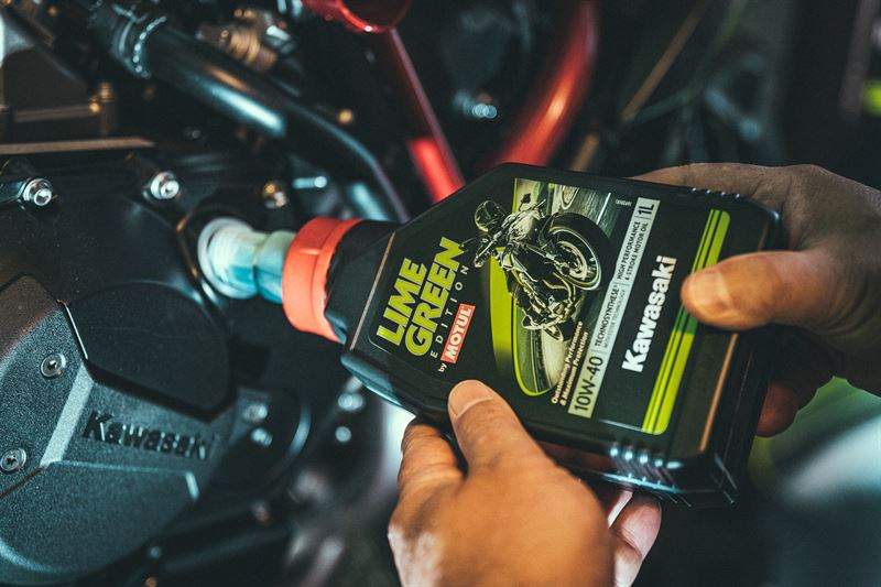 Motul Lime Green